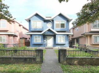 """Main Photo: 6376 BEATRICE Street in Vancouver: Killarney VE 1/2 Duplex for sale in """"KILLARNEY"""" (Vancouver East)  : MLS®# R2622711"""