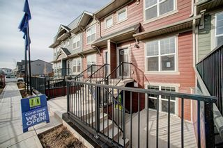 Main Photo: 126 Cranbrook Square SE in Calgary: Cranston Row/Townhouse for sale : MLS®# A1058399