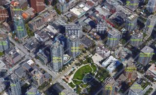 """Photo 12: 705 1155 SEYMOUR Street in Vancouver: Downtown VW Condo for sale in """"BRAVA NORTH"""" (Vancouver West)  : MLS®# R2453073"""