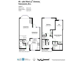 """Photo 20: 6 960 W 13TH Avenue in Vancouver: Fairview VW Townhouse for sale in """"BRICKHOUSE"""" (Vancouver West)  : MLS®# R2381516"""