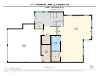 Photo 36: 301 2100F Stewart Creek Drive: Canmore Row/Townhouse for sale : MLS®# A1026088
