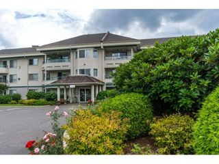 """Photo 1: 210 2451 GLADWIN Road in Abbotsford: Abbotsford West Condo for sale in """"Centennial Court"""" : MLS®# R2145469"""