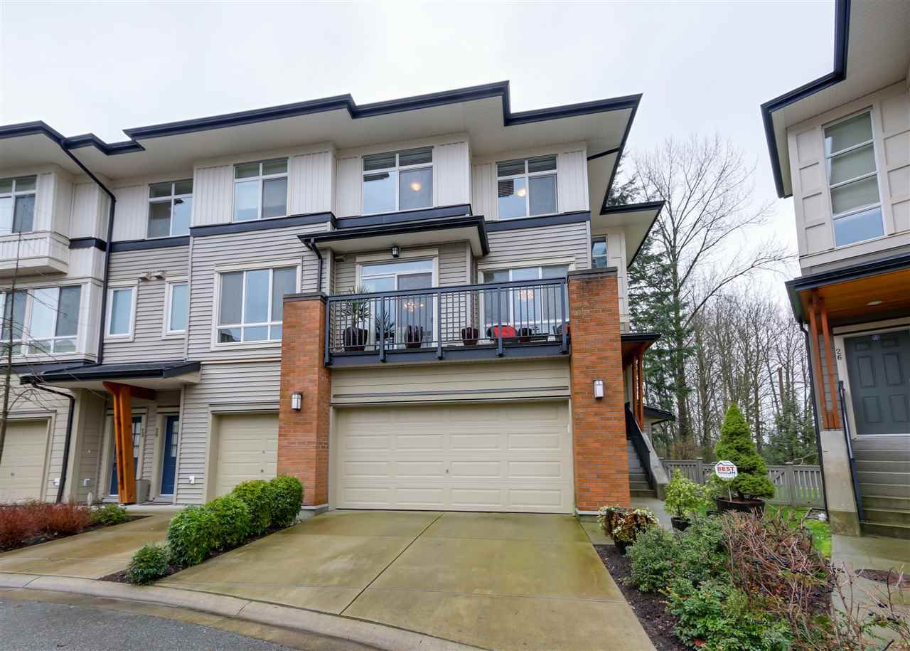 """Main Photo: 27 1125 KENSAL Place in Coquitlam: New Horizons Townhouse for sale in """"KENSAL WALK"""" : MLS®# R2035767"""
