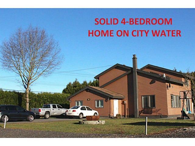 Main Photo: 32908 HARRIS Road in Abbotsford: Matsqui House for sale : MLS®# F1434167