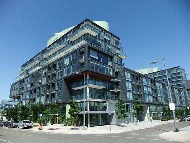 Main Photo: S606 455 E Front Street in Toronto: Waterfront Communities C8 Condo for lease (Toronto C08)  : MLS®# C3750477