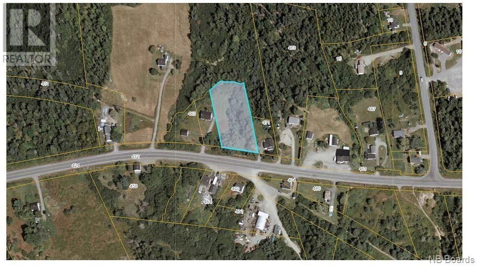 Main Photo: - Route 170 in Oak Bay: Vacant Land for sale : MLS®# NB057531