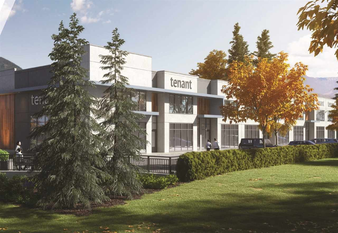 Main Photo: 111 1091 COMMERCIAL Place in Squamish: Business Park Industrial for lease : MLS®# C8035949