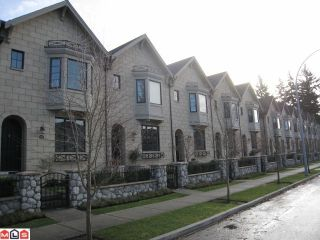 """Photo 1: 104 2580 LANGDON Street in Abbotsford: Abbotsford West Townhouse for sale in """"The Brownstones"""" : MLS®# F1128533"""