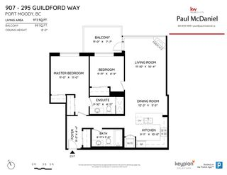 Photo 28: 907 295 GUILDFORD Way in Port Moody: North Shore Pt Moody Condo for sale : MLS®# R2571623