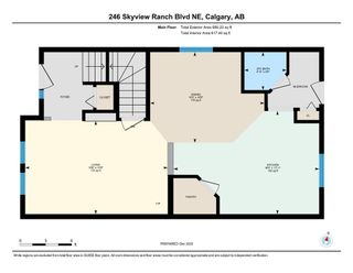 Photo 27: 246 Skyview Ranch Boulevard NE in Calgary: Skyview Ranch Semi Detached for sale : MLS®# A1052771