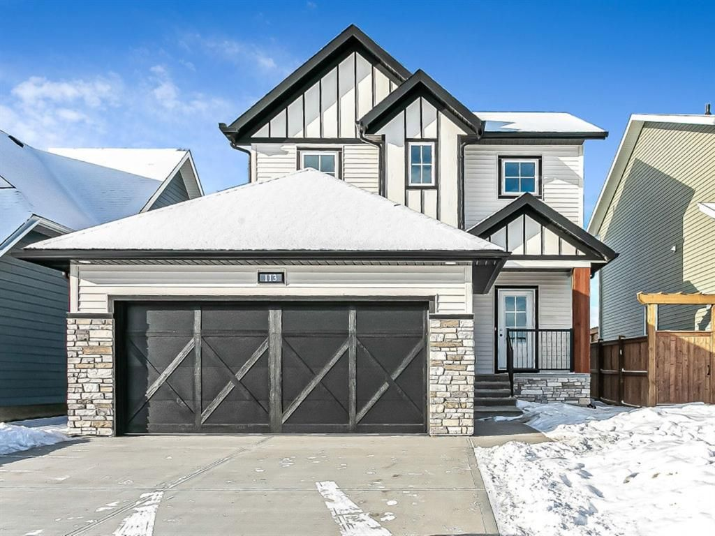 Main Photo: 113 Amery Crescent: Crossfield Detached for sale : MLS®# A1057409