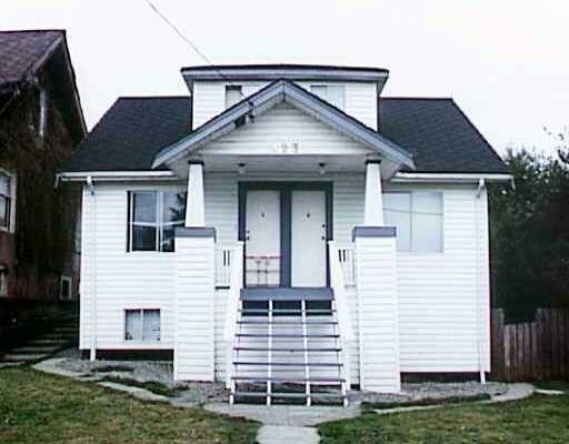 Main Photo: 323B SIMPSON Street in New Westminster: Sapperton 1/2 Duplex for sale : MLS®# V615187