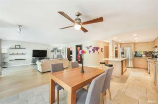"""Photo 1: 9 2188 SE MARINE Drive in Vancouver: South Marine Townhouse for sale in """"Leslie Terrace"""" (Vancouver East)  : MLS®# R2593040"""