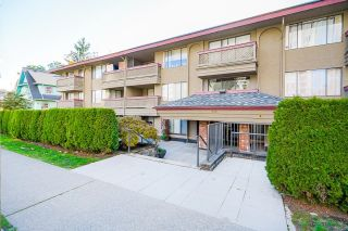 """Photo 1: 106 436 SEVENTH Street in New Westminster: Uptown NW Condo for sale in """"REGENCY COURT"""" : MLS®# R2625493"""