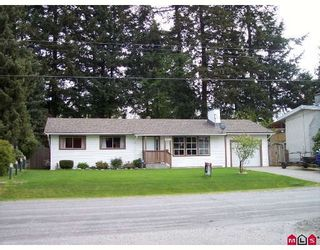 Photo 1: 2158 BEAVER Street in Abbotsford: Abbotsford West House for sale : MLS®# F2909716