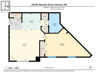 Photo 16: 240, 901 MOUNTAIN Street in Canmore: Condo for sale : MLS®# A1146114