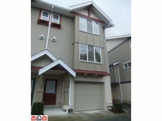 Photo 1: #12 6651 203rd Street in Langley: Willoughby Heights Townhouse for sale : MLS®# F1204178