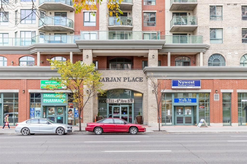Main Photo: 1408 1111 6 Avenue SW in Calgary: Downtown West End Apartment for sale : MLS®# A1102707