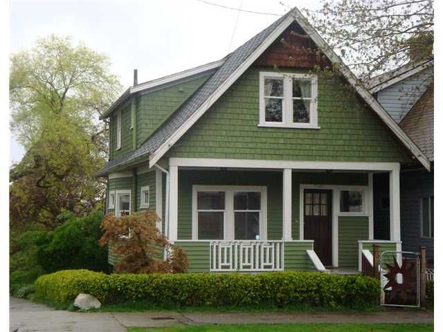 Main Photo: 2169 VICTORIA Drive in Vancouver: Grandview VE House for sale (Vancouver East)  : MLS®# V825701