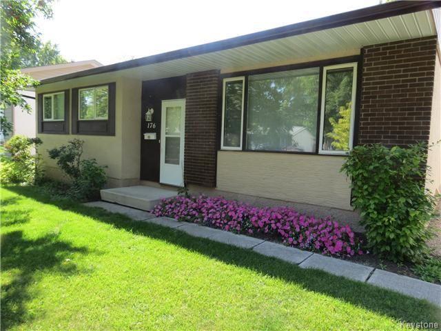 Main Photo: 176 Risbey Crescent in WINNIPEG: Westwood / Crestview Residential for sale (West Winnipeg)  : MLS®# 1323461