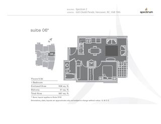 """Photo 20: 2706 668 CITADEL PARADE in Vancouver: Downtown VW Condo for sale in """"SPECTRUM"""" (Vancouver West)  : MLS®# R2000257"""