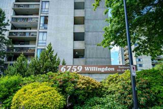 """Photo 4: 1105 6759 WILLINGDON Avenue in Burnaby: Metrotown Condo for sale in """"Balmoral on the Park"""" (Burnaby South)  : MLS®# R2591487"""
