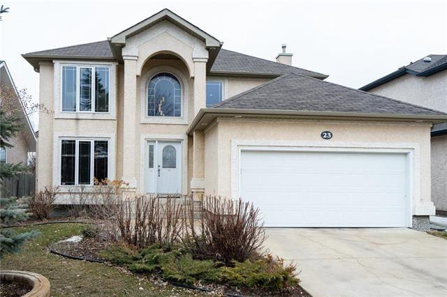 Main Photo: 23 Linden Terrace Way in Winnipeg: Linden Woods Residential for sale (1M)  : MLS®# 1908200