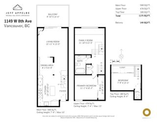 Photo 33: 1149 W 8TH AVENUE in Vancouver: Fairview VW Townhouse for sale (Vancouver West)  : MLS®# R2619383