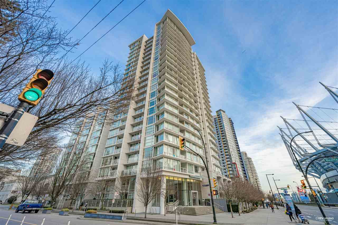 Main Photo: 1012 161 W GEORGIA STREET in Vancouver: Downtown VW Condo for sale (Vancouver West)  : MLS®# R2532813
