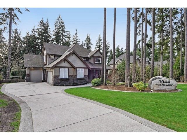 Main Photo: 1044 RAVENSWOOD Drive: Anmore House for sale (Port Moody)  : MLS®# V1105572