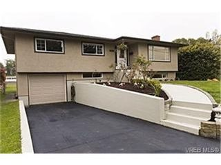 Photo 1:  in VICTORIA: SE Mt Tolmie House for sale (Saanich East)  : MLS®# 468558