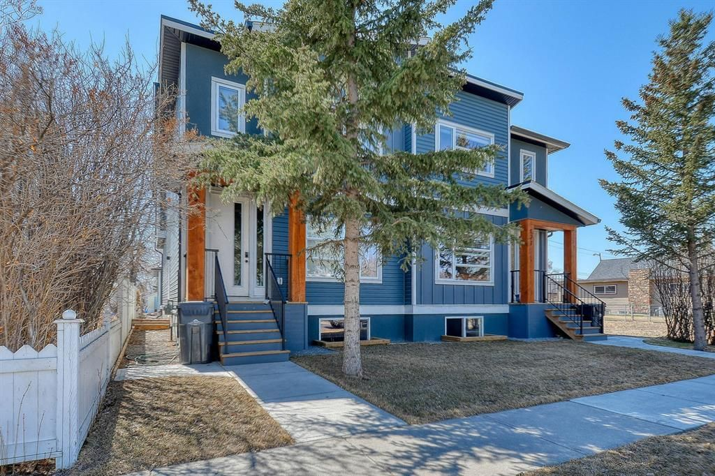 Main Photo: 129 2nd Avenue: High River Semi Detached for sale : MLS®# A1094387