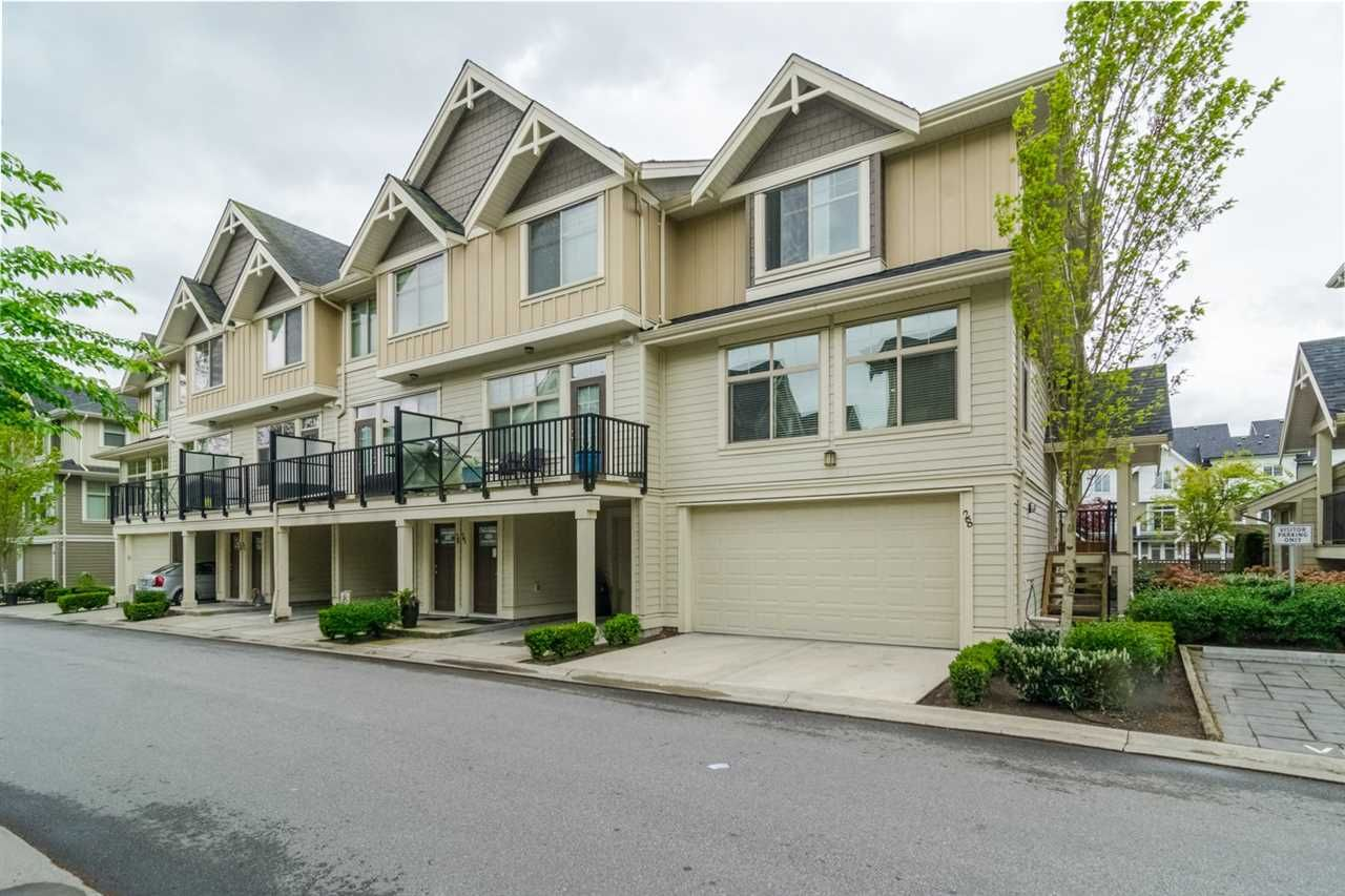 """Main Photo: 28 19525 73 Avenue in Surrey: Clayton Townhouse for sale in """"Up Town 2"""" (Cloverdale)  : MLS®# R2332916"""