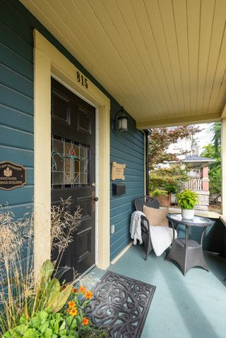 """Photo 2: 815 MILTON Street in New Westminster: Uptown NW House for sale in """"Brow of the Hill"""" : MLS®# R2620655"""