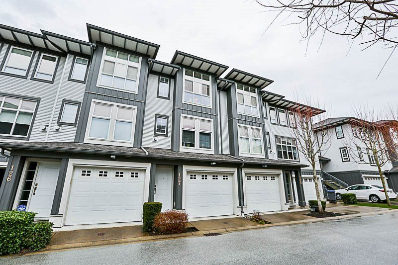 "Main Photo: 127 18777 68A Avenue in Surrey: Clayton Townhouse for sale in ""COMPASS"" (Cloverdale)  : MLS®# R2246372"