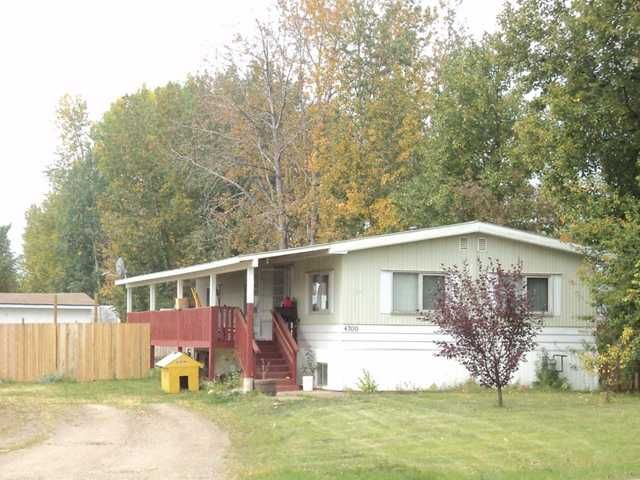 Main Photo: 4709 BOUNDARY Road in Fort Nelson: Fort Nelson -Town Manufactured Home for sale (Fort Nelson (Zone 64))  : MLS®# N213425