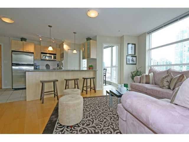 """Photo 5: Photos: 1402 1199 SEYMOUR Street in Vancouver: Downtown VW Condo for sale in """"BRAVA"""" (Vancouver West)  : MLS®# V877625"""