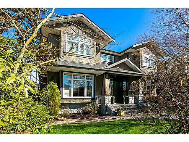 """Main Photo: 3745 OXFORD Street in Burnaby: Vancouver Heights House for sale in """"THE HEIGHTS"""" (Burnaby North)  : MLS®# V1016076"""