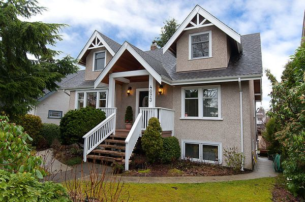 Main Photo: 4073 W 19TH Avenue in Vancouver: Dunbar House for sale (Vancouver West)  : MLS®# V995201