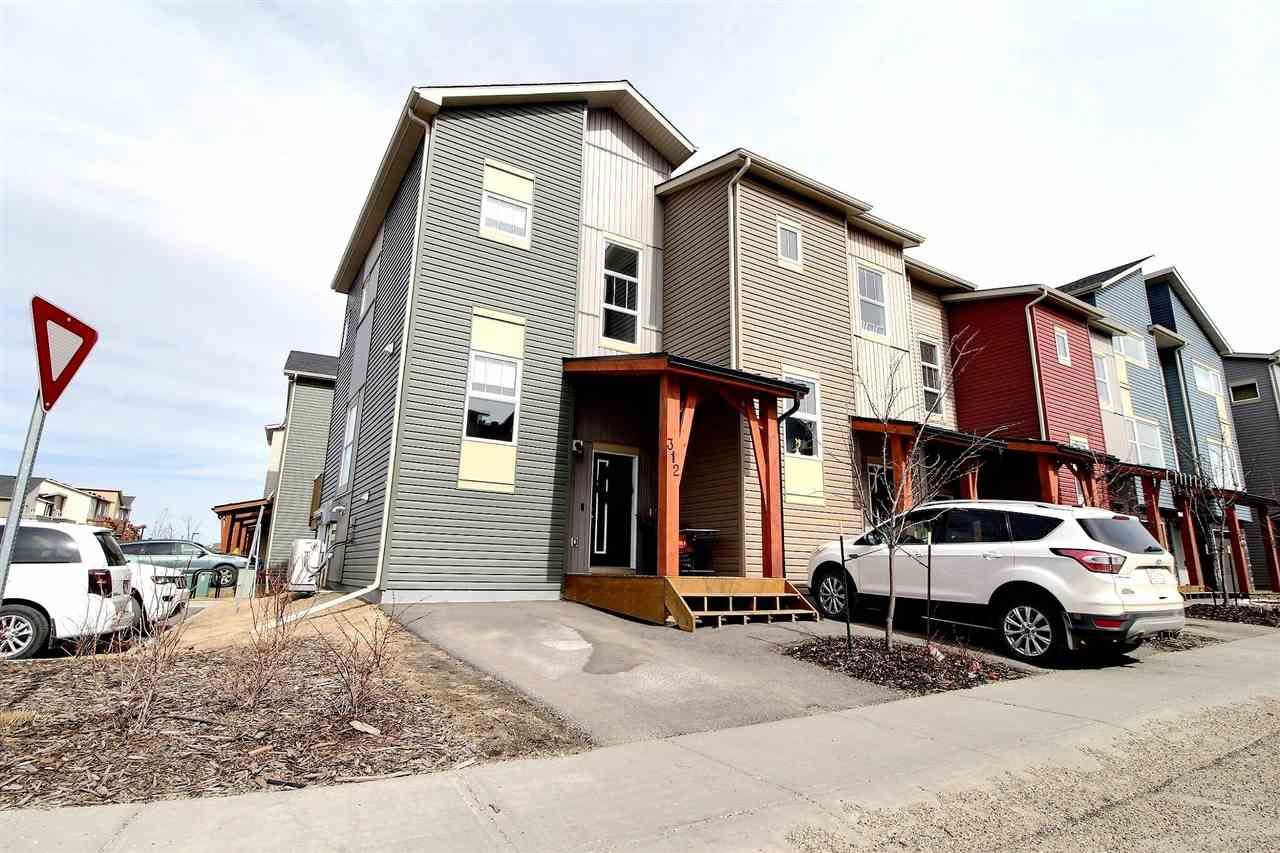 Main Photo: 312 401 SOUTHFORK Drive: Leduc Townhouse for sale : MLS®# E4236815