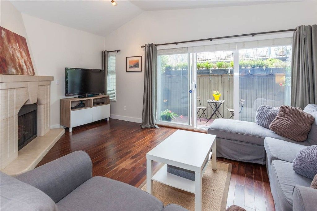 Main Photo: 2411 West 5th Ave in Vancouver: Kitsilano Townhouse for sale (Vancouver West)  : MLS®# R2161511