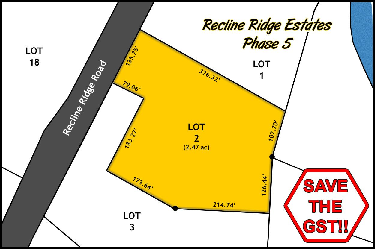 Recline Ridge Estates - Phase V - Lot 2