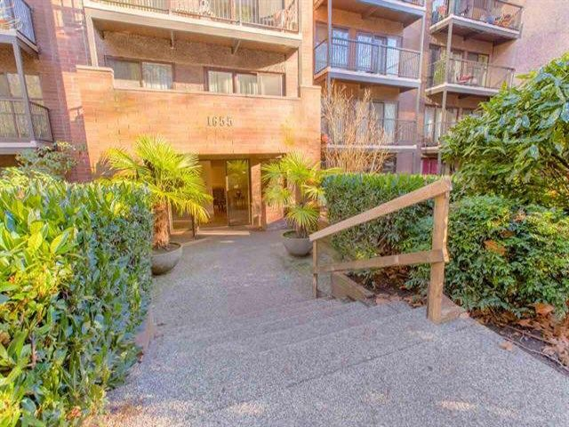 Photo 2: Photos: 105 1655 NELSON Street in Vancouver: West End VW Condo for sale (Vancouver West)  : MLS®# R2419853