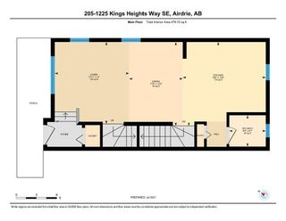Photo 31: 205 1225 Kings Heights Way SE: Airdrie Row/Townhouse for sale : MLS®# A1122375