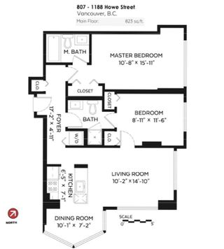 """Photo 20: 807 1188 HOWE Street in Vancouver: Downtown VW Condo for sale in """"1188 HOWE"""" (Vancouver West)  : MLS®# R2162667"""