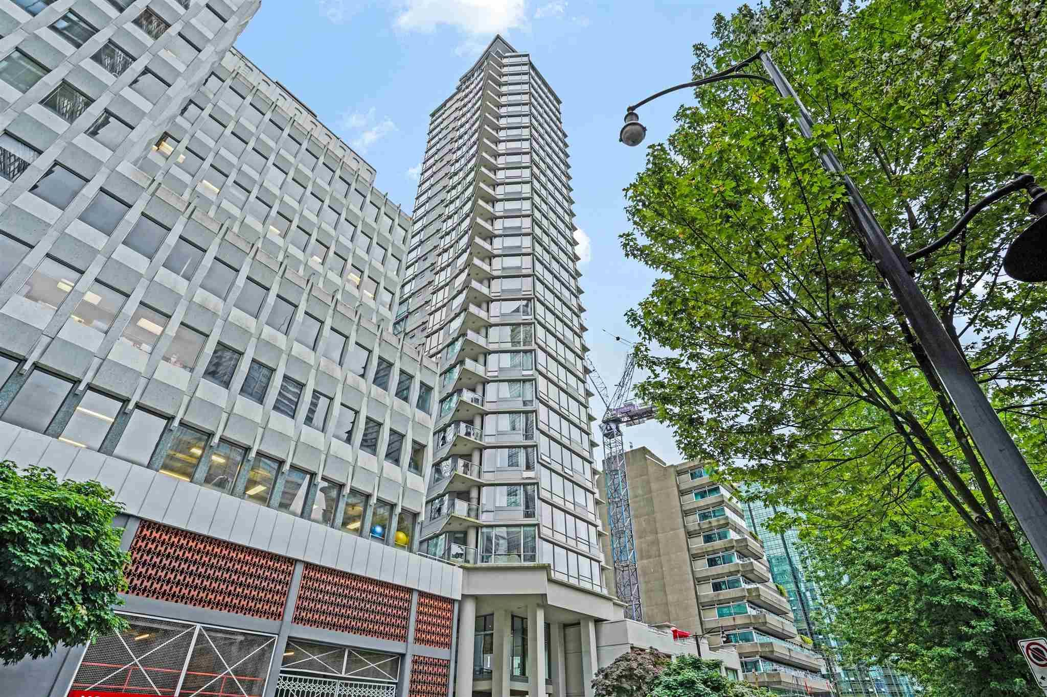"""Main Photo: 304 1228 W HASTINGS Street in Vancouver: Coal Harbour Condo for sale in """"Palladio"""" (Vancouver West)  : MLS®# R2594596"""