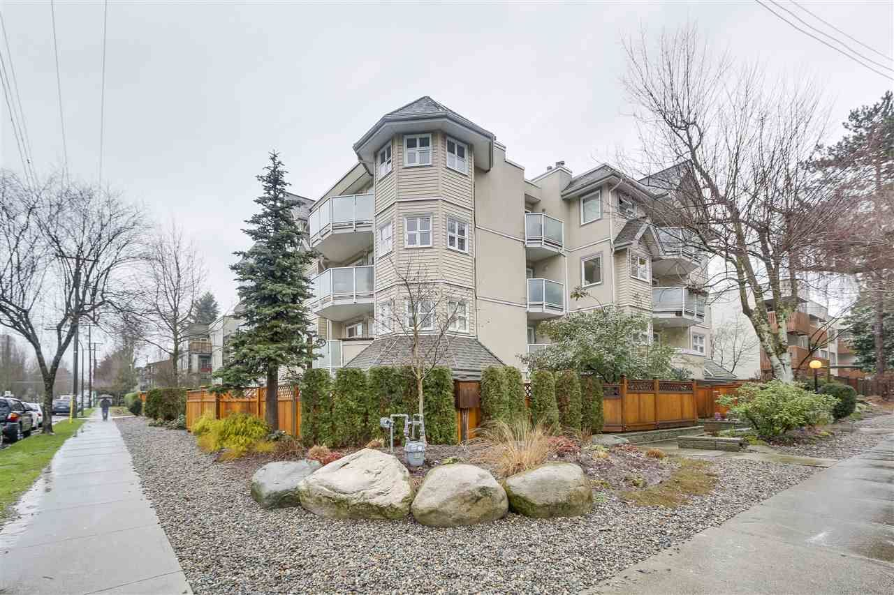 """Main Photo: 101 1515 E 6TH Avenue in Vancouver: Grandview VE Condo for sale in """"WOODLAND TERRACE"""" (Vancouver East)  : MLS®# R2237006"""