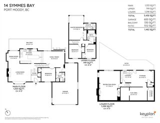 Photo 40: 14 SYMMES Bay in Port Moody: Barber Street House for sale : MLS®# R2583038