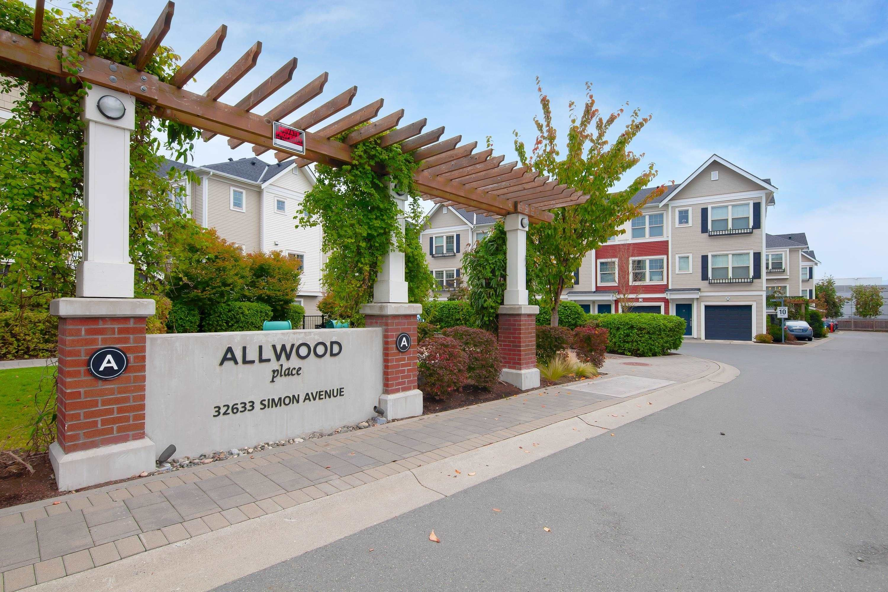 """Main Photo: 26 32633 SIMON Avenue in Abbotsford: Abbotsford West Townhouse for sale in """"Allwood Place"""" : MLS®# R2622839"""