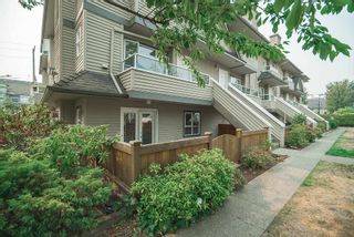 """Photo 1: 104 3938 ALBERT Street in Burnaby: Vancouver Heights Townhouse for sale in """"HERITAGE GREENE"""" (Burnaby North)  : MLS®# R2300525"""